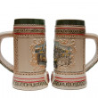 Beer mugs — Foto Stock #4342469