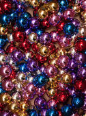 Xmas Background. Christmas Ball pattern — Stock Photo