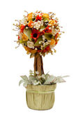 Artificial flower tree — Stock Photo