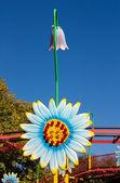 цветок лампа — Стоковое фото