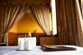 Table dans un restaurant — Photo