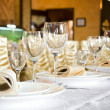 banquet table — Stock Photo #4670792