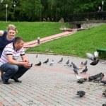 Pigeons — Stock Photo #4917611