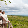 Couple on safari vacation — Stock Photo #3940788