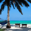 Perfect tropical beach — Stockfoto