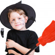 Royalty-Free Stock Photo: Boy in Halloween costume