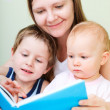 Family reading — Stock Photo #4092975