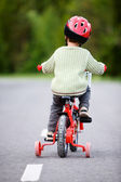 Safe Bicycling — Stock Photo