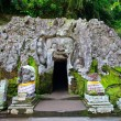 Elephant Cave Temple in Bali - Stock Photo