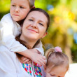 Mother and kids portrait — Stock Photo #4680928