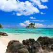 Perfect beach in Seychelles — Stock Photo #4682767
