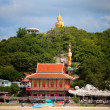 Temple complex in Thailand - Stock Photo