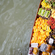 Stock Photo: Fruits boat