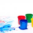 Finger paints — Stock Photo #4685402