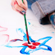 Boy painting — Stock Photo #4685425