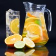 Citrus Ice Water — Stock Photo #4686458