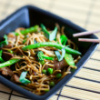 Delicious meat wok — Stock Photo #4687621