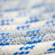 Blue And White Rope - Stock Photo