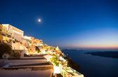 圣托里尼岛之夜 — 图库照片