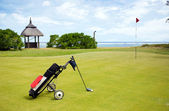 Coastal Golf Course — Stock Photo