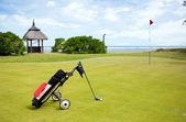 Coastal Golf Course — Stock Photo