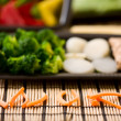 Wok ingredients — Stock Photo