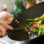 Chef de cozinha — Foto Stock
