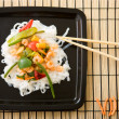FDelicious wok — Stock Photo