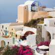 Oia Village Panorama — Stock Photo