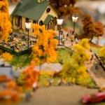 Toy city — Stock Photo