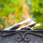 Metal campfire — Stock Photo #4693767