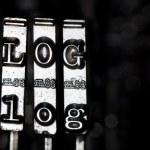 λέξη blog — 图库照片