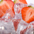 Royalty-Free Stock Photo: Ice Strawberries