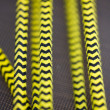Yellow And Black Rope - Stock Photo