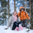 Winter Wochenende — Stockfoto #4729539