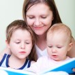 Royalty-Free Stock Photo: Family reading
