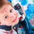 Boy painting — Stock Photo #4729583