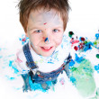 Boy painting — Stock Photo #4729597