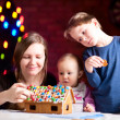 Gingerbread house decoration — Stock Photo #4729618
