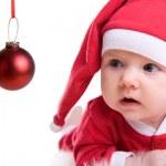 Baby Santa — Stock Photo #4729815