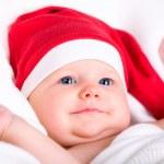 Baby Santa — Stock Photo #4729833