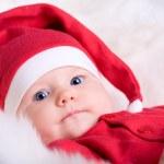 Baby Santa — Stock Photo #4729835