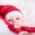 Baby Santa — Stock Photo #4729836