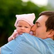 Happy fatherhood — Stock Photo #4729879