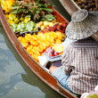 Floating market - Stock Photo