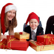 Stock Photo: Xmas Family