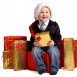 Stock Photo: Christmas gifts for little one