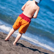 Boy at the beach — Stock Photo
