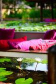 Restaurante flotante — Foto de Stock