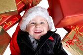 Julklappar för barn. — Stockfoto